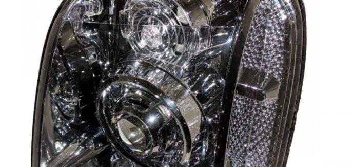 2012 GMC Yukon Denali Chrome Projector Headlights