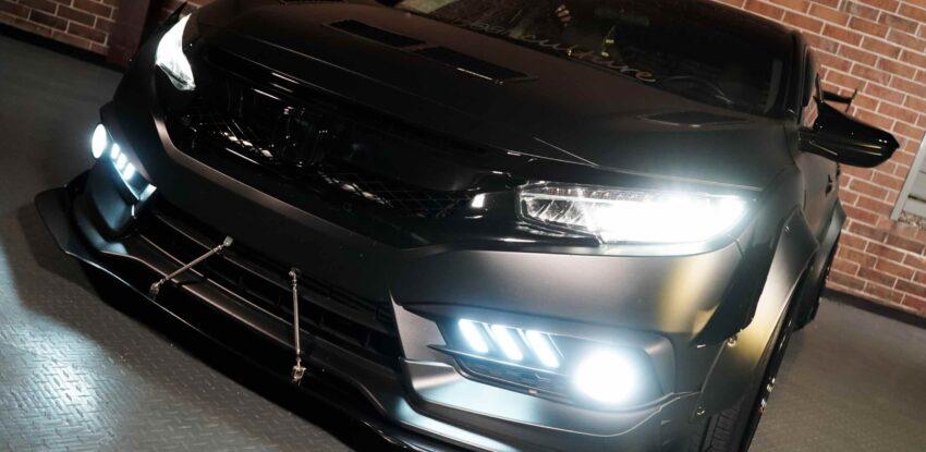 Custom LED & HID Honda Headlight Packages