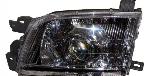 2002 Subaru Forester HID Projector Retrofit Chrome Headlights