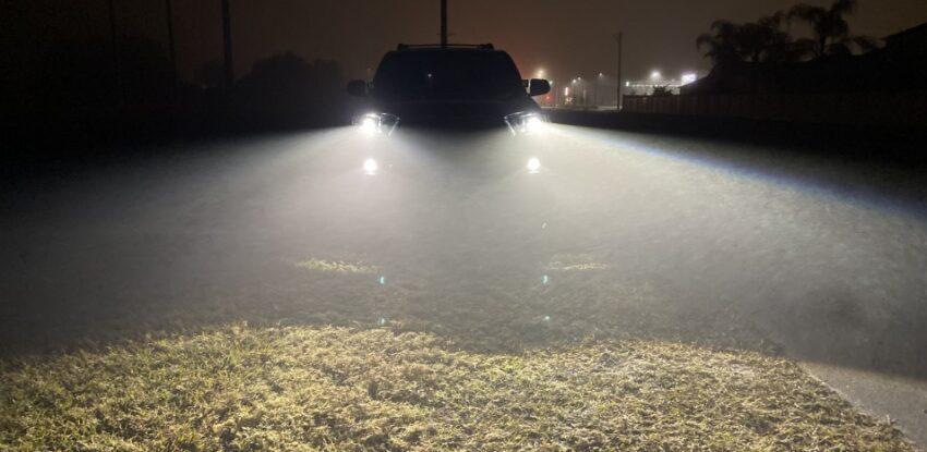 Toyota TRD 4Runner Custom Projector Headlights