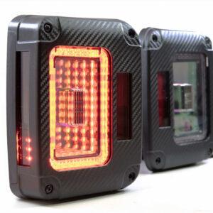 07-18 Jeep Wrangler JK XB LED Tail Lights