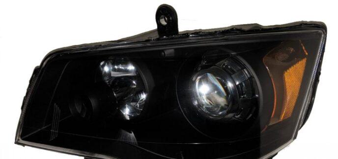 2014 Dodge Grand Caravan Projector Headlights Custom