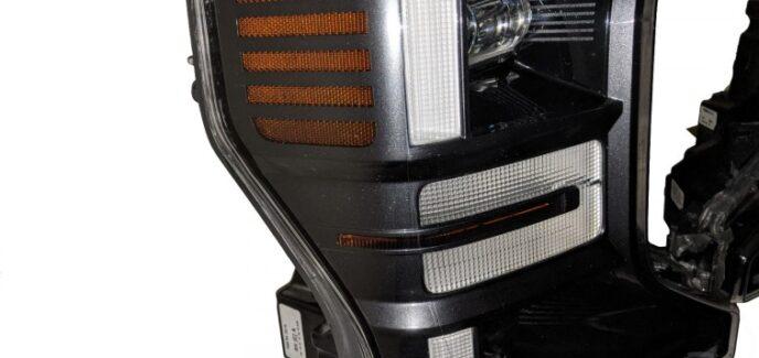 2020 Ford F450 Super Duty Magnetic Grey Custom Painted OEM LED Headlights