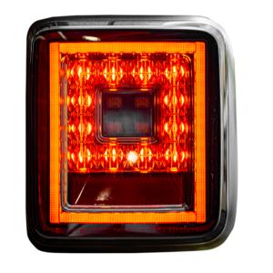 Jeep Wrangler JL OLED Black Smoked LED Recon Tail Lights