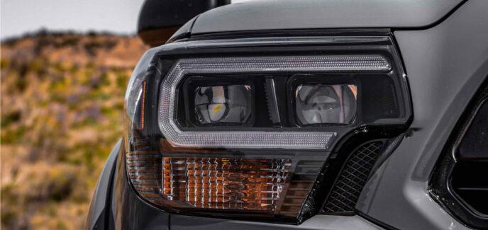 2012-2015 Toyota Tacoma XB LED Morimoto AMBER Headlights